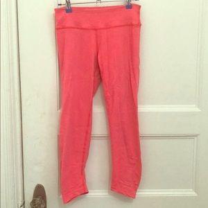 Beyond yoga pink crop legging pant